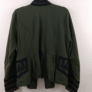 torrid Jackets & Coats - KNIT ZIP FRONT MILITARY JACKET